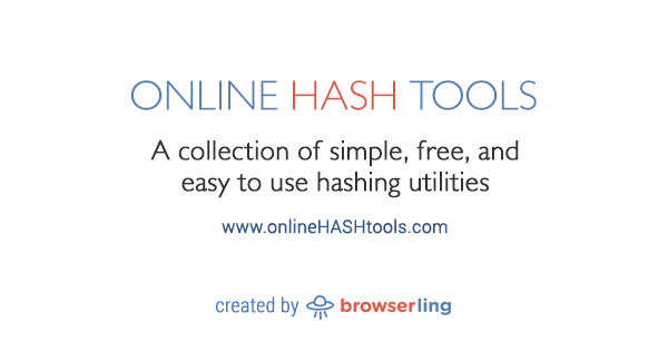 Generate Random MD5 Hashes - Online Hash Tools
